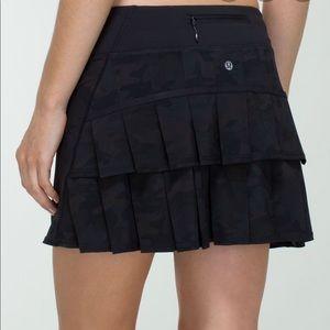 Lululemon Pace Setter Skirt Camo print